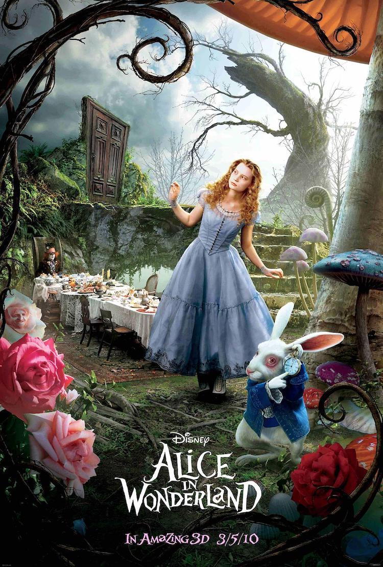 《爱丽丝梦游仙境》(Alice in Wonderland)电影影评:鬼才导演的创意与狂想风格
