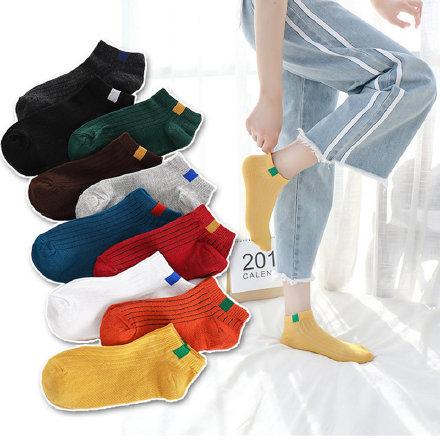 安娜汇旗舰店 日系春夏款短袜10双【9.9】 安娜汇袜子