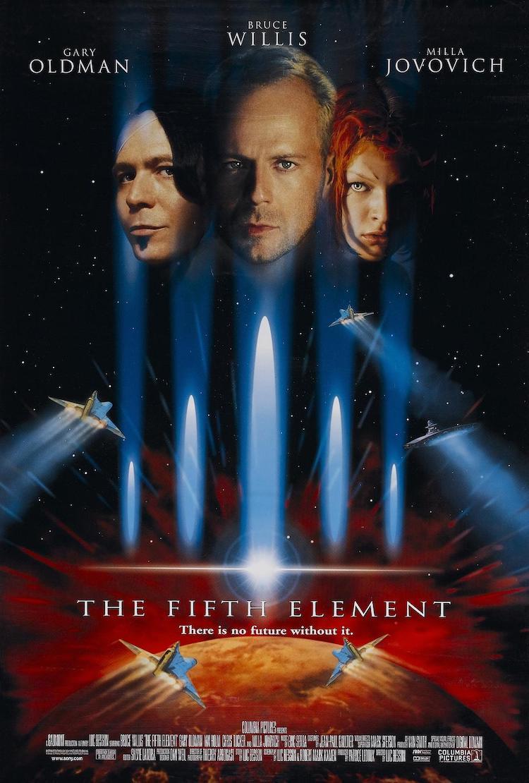《第五元素》电影:以当时的科幻电影来说,是一大成功作-爱趣猫