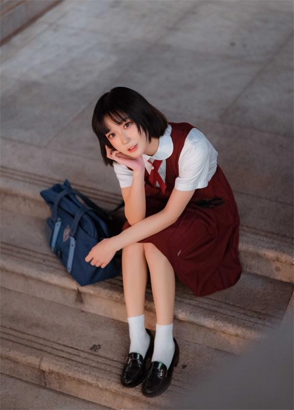 ⭐微博红人⭐阿包也是兔娘 – NO.03  JK日常【15P/63MB】