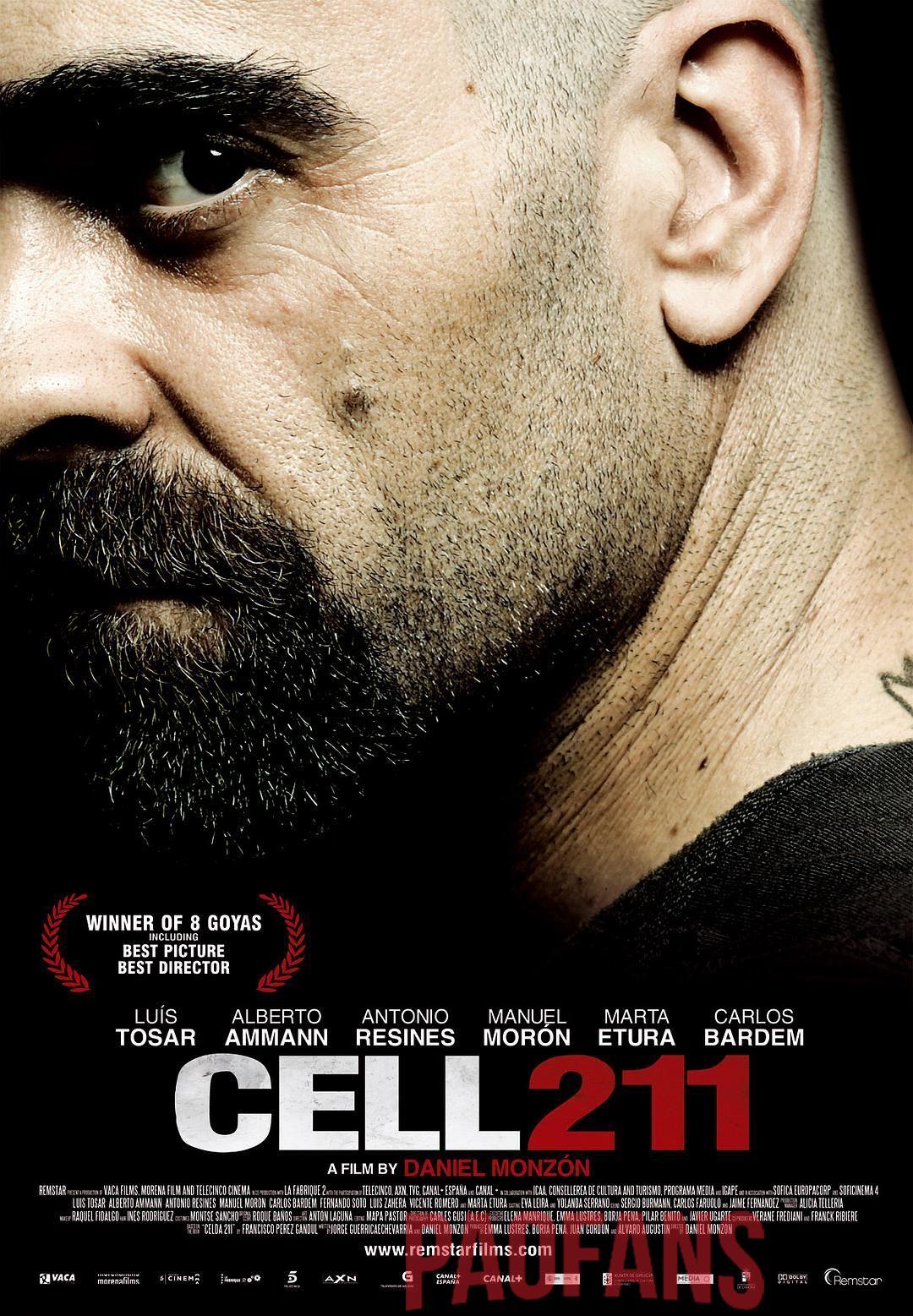 2009西班牙8.0分动作剧情《囚室211/夺狱困兽》BD1080p.中文字幕