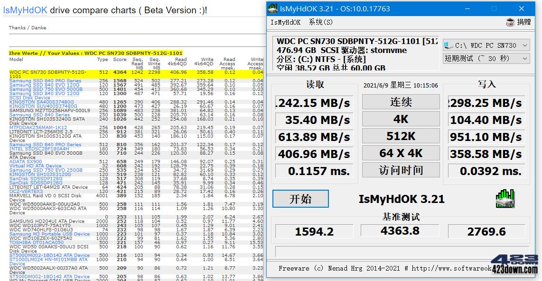 IsMyHdOK 3.33.0   硬盘速度基准测试小工具