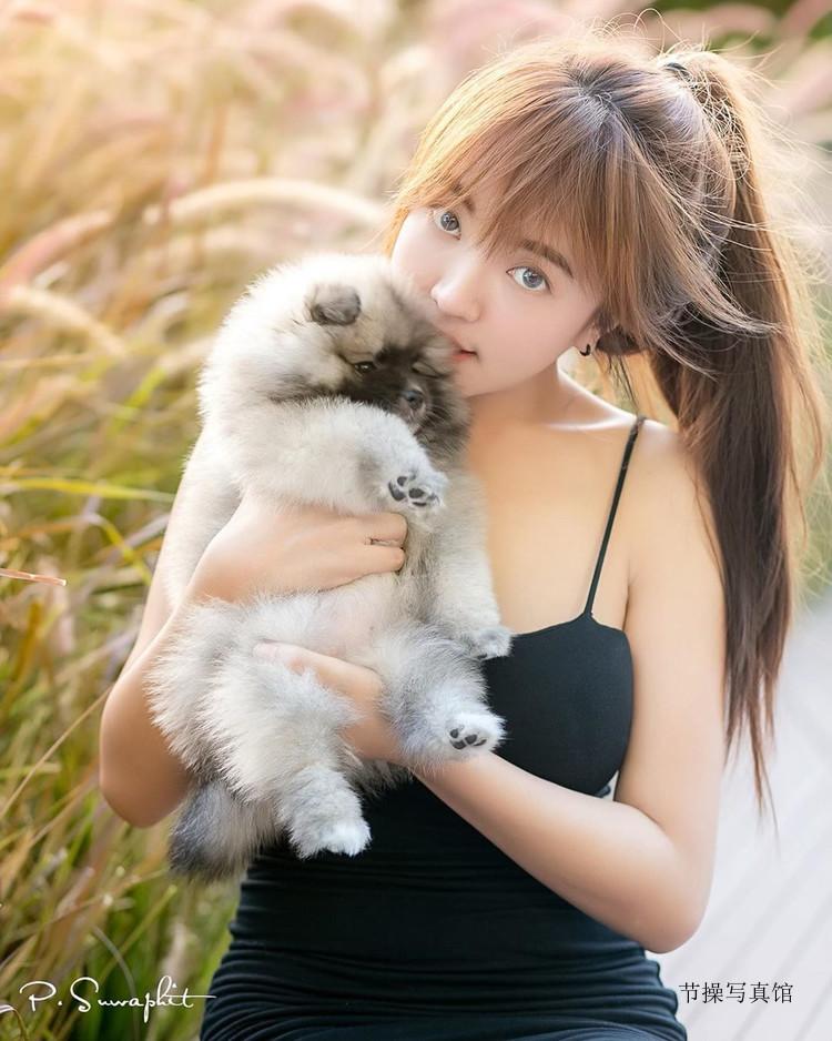 长腿小网红@strong_kanoktip个人写真,好想当她的狗