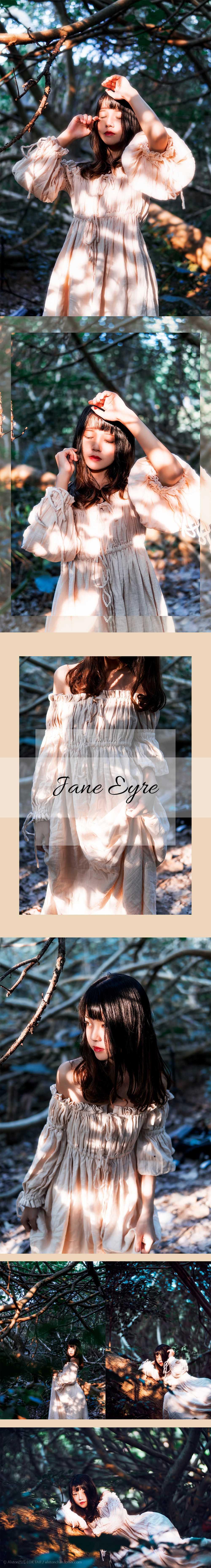 免费⭐微博红人⭐桜桃喵@写真cos-Jane Eyre(桜桃喵)插图3