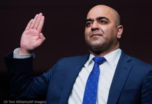 移民之子扎希德·库莱希获确认成为首位穆斯林联邦法官