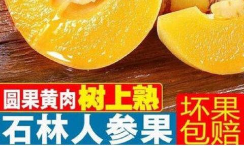 【拼多多】微信扫图片码石林人参果3斤【6.18】云南榴