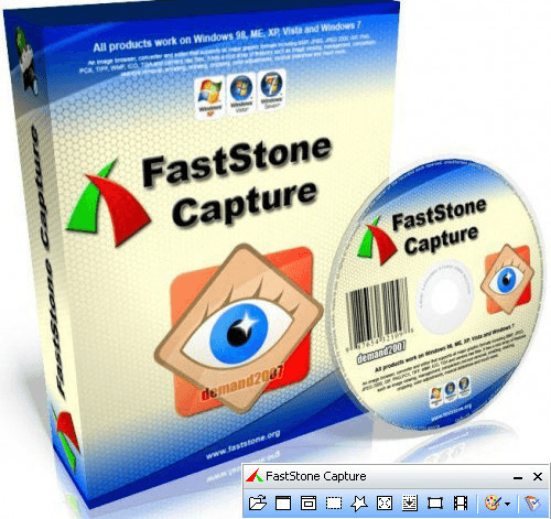 FastStone Capture v9.7中文注册绿色便携版