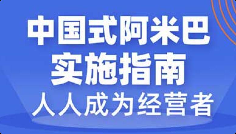 中国式阿米巴实施指南,人人成为经营者