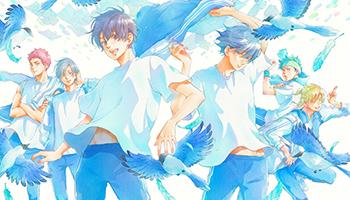 TV动画「后空翻!!」BD-BOX第一卷封面图公布