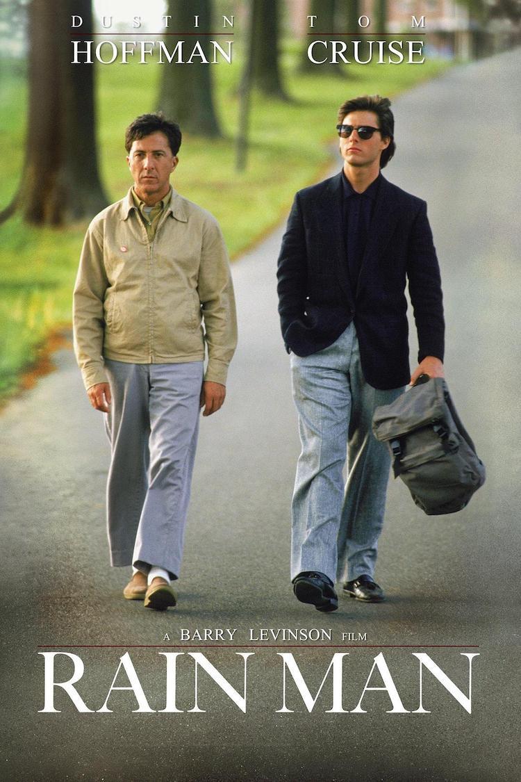 《雨人》电影影评:是一部感情非常内敛的电影,值得细细品味
