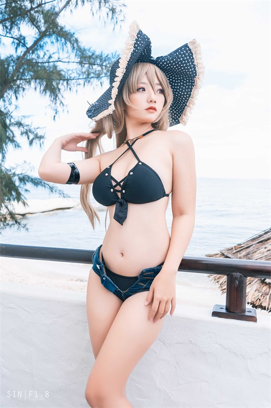 ⭐cos套图⭐Messie Huang-性感美女@Jean Bart swimsuit【20P/62MB】插图