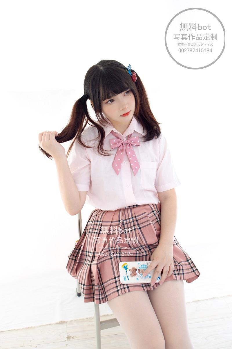 ⭐丝模写真⭐森萝财团-無料001 JK格子裙【102P/1V/2.64GB】插图2