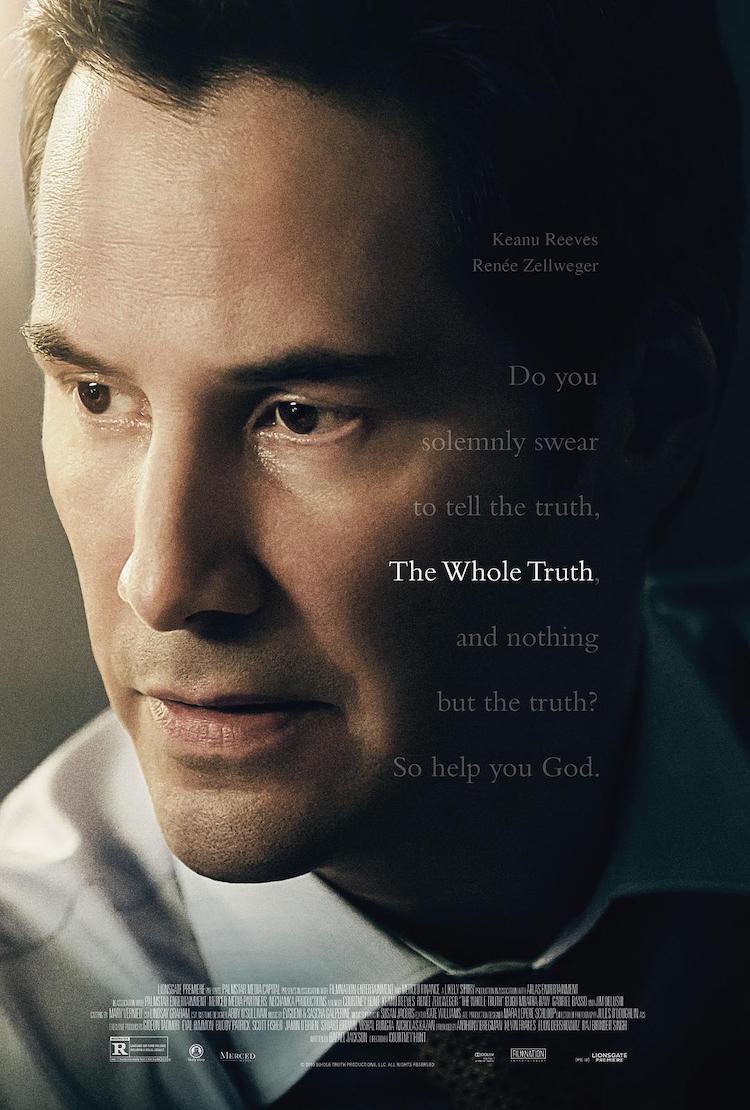 基努·里维斯电影《真相背后》影评:一件事情,必须透过多角度来看待,方能窥其全貌