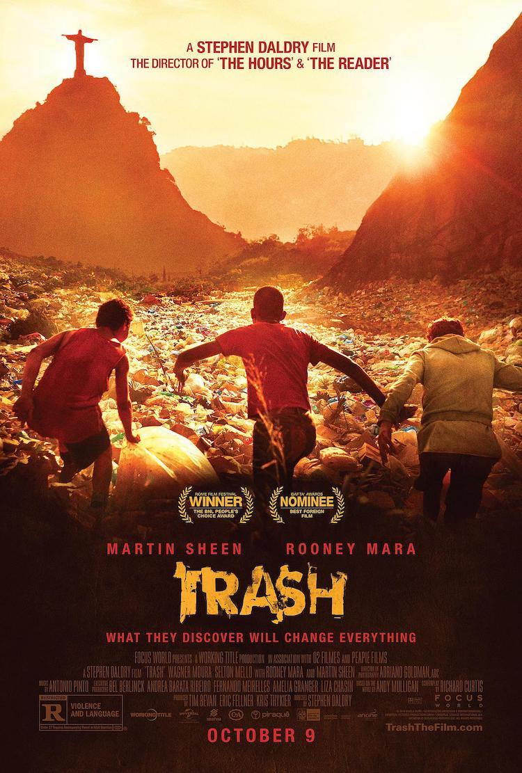《垃圾男孩》电影影评:改编不算完美,但还是很不错