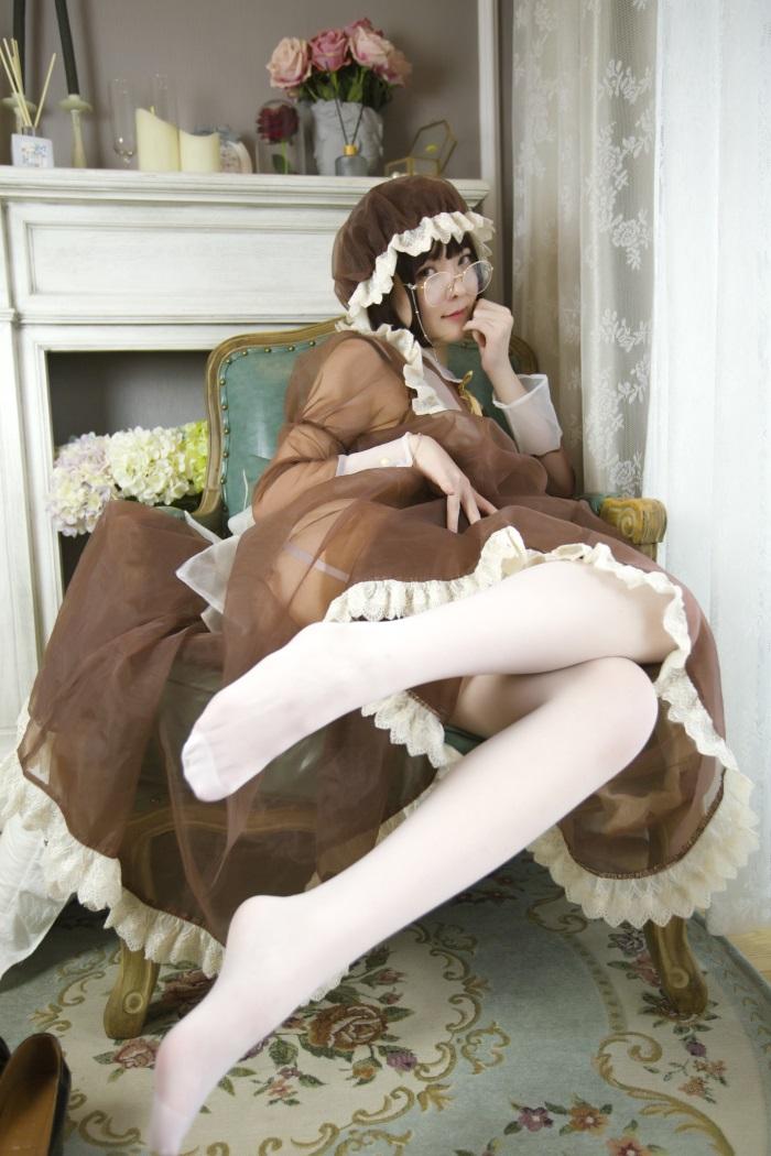 ⭐微博红人⭐一小央泽@写真cos-女仆的新装[85P/1V/1.09G]插图