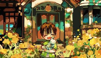 あいだいろ「地缚少年花子君」最新插画公开