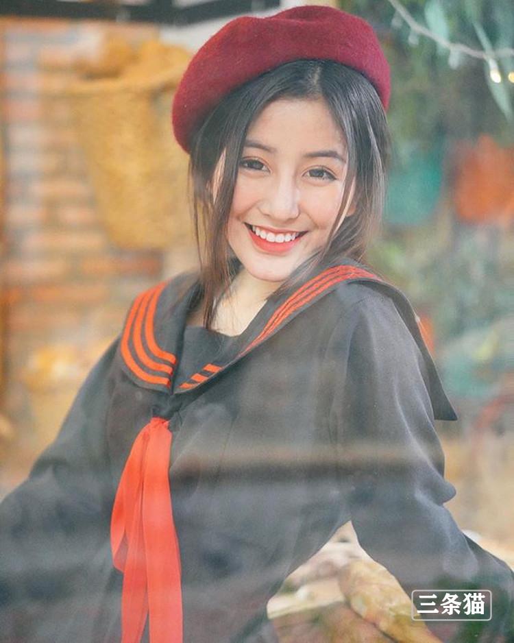 越南学生妹@Chin仙气写真图片作品欣赏 美女写真 热图6