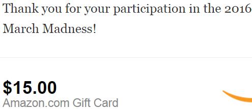 2016年该国外调查站收入一批15美元亚马逊礼品卡