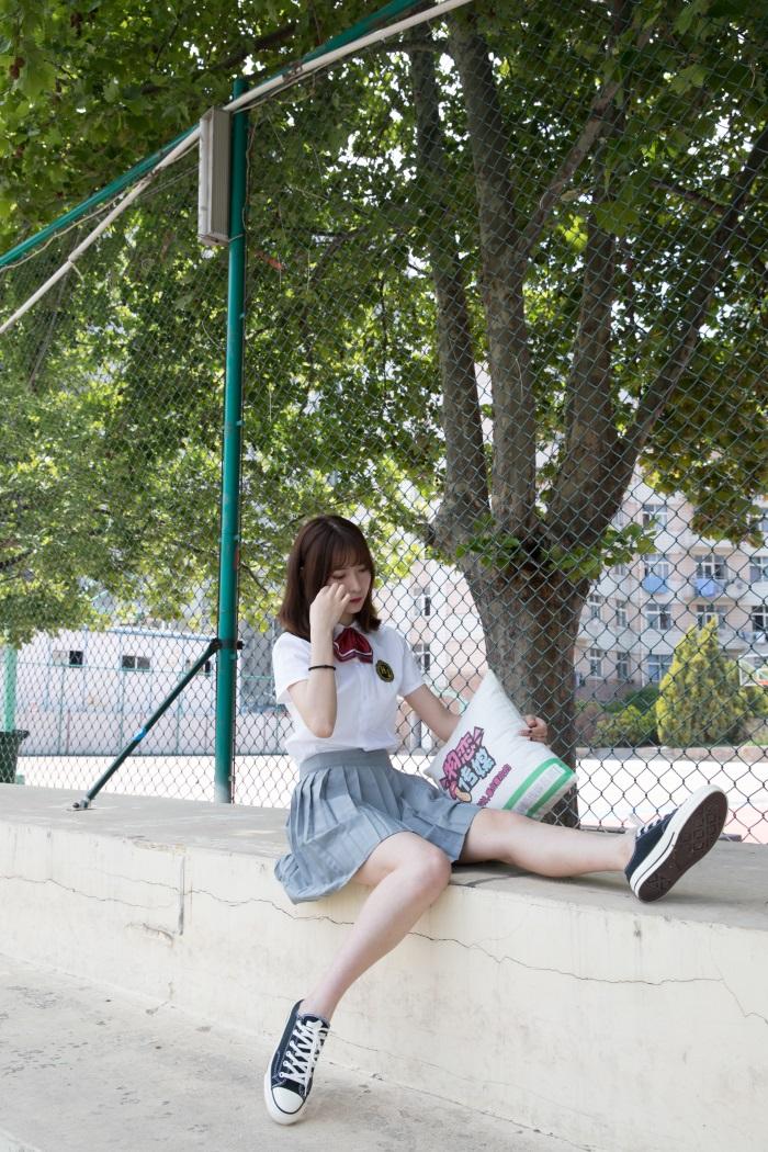 ⭐名站写真⭐物恋传媒-No.156案例猫耳-操场、校服、帆布鞋与船袜[172P/1V/4.31G]插图