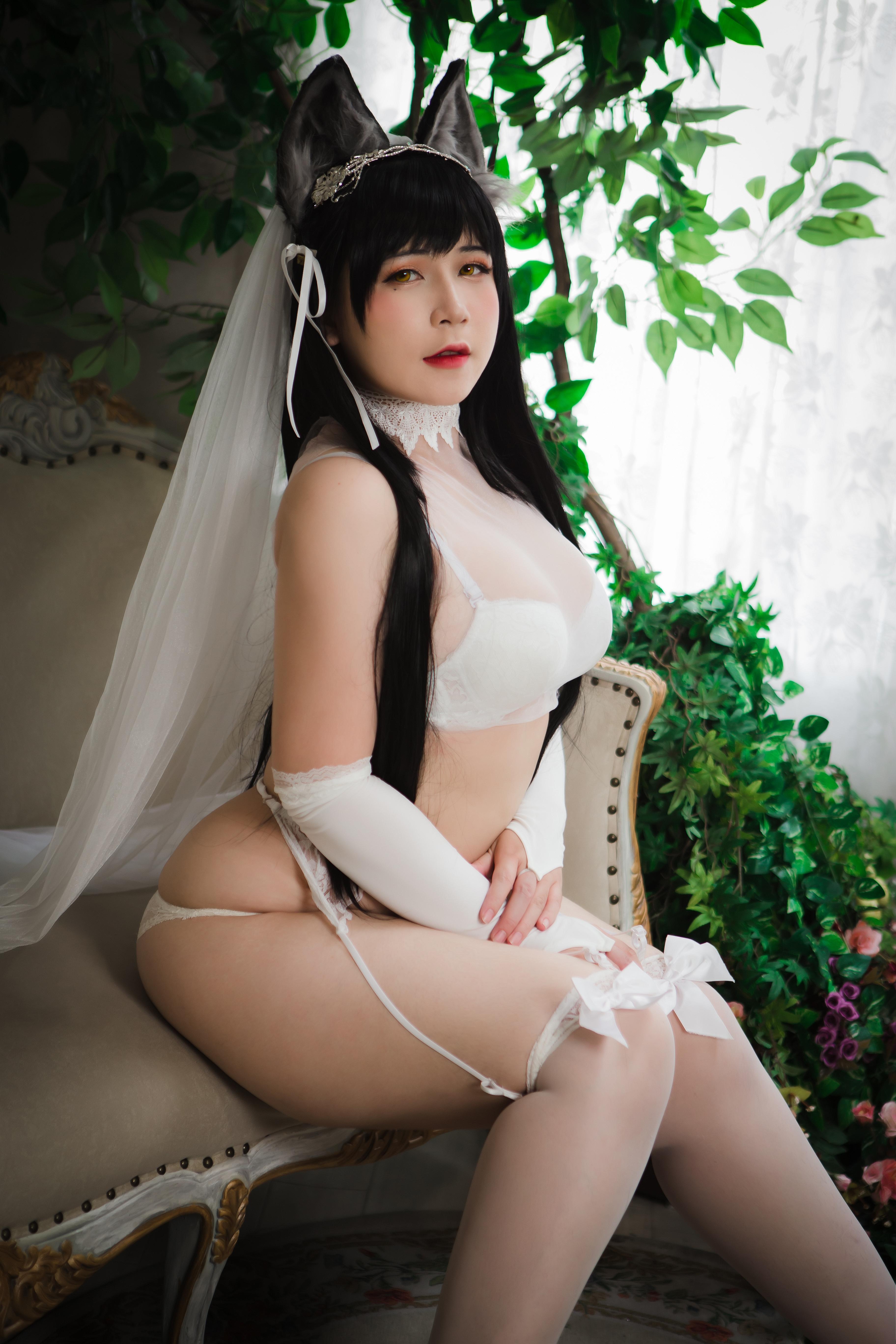 Uy UyAtago Wedding (阿塔戈婚礼)COS作品鉴赏-觅爱图
