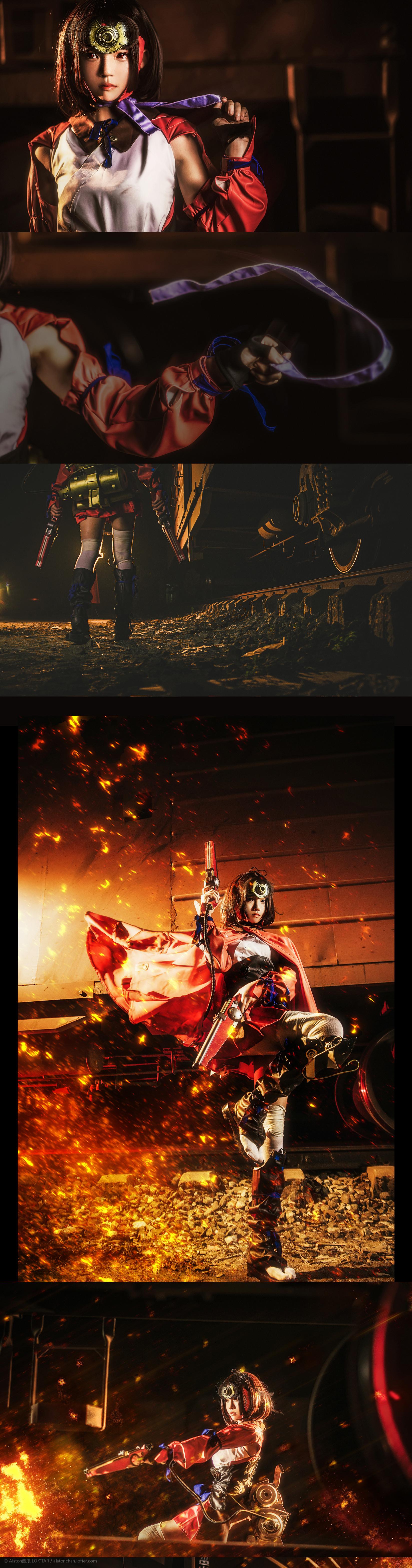 免费⭐微博红人⭐桜桃喵@写真cos-甲铁城的卡巴内瑞(桜桃喵)插图4