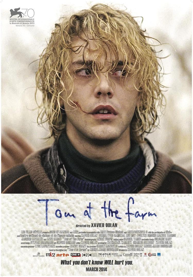 哈维尔·多兰作品:《汤姆在农场》( 汤姆的农场旅行),家人的爱与羁绊