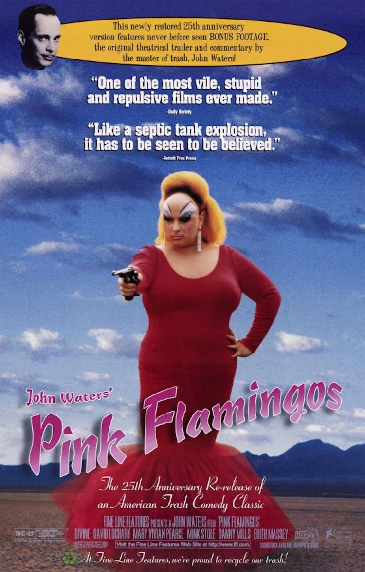 Cult 片影评——《粉红色的火烈鸟》(Pink Flamingos)