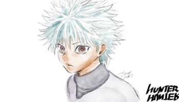 青木健一郎公开「全职猎人」最新角色绘图