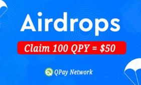 QPay,电报空投送100枚QPay,每次推荐送20枚