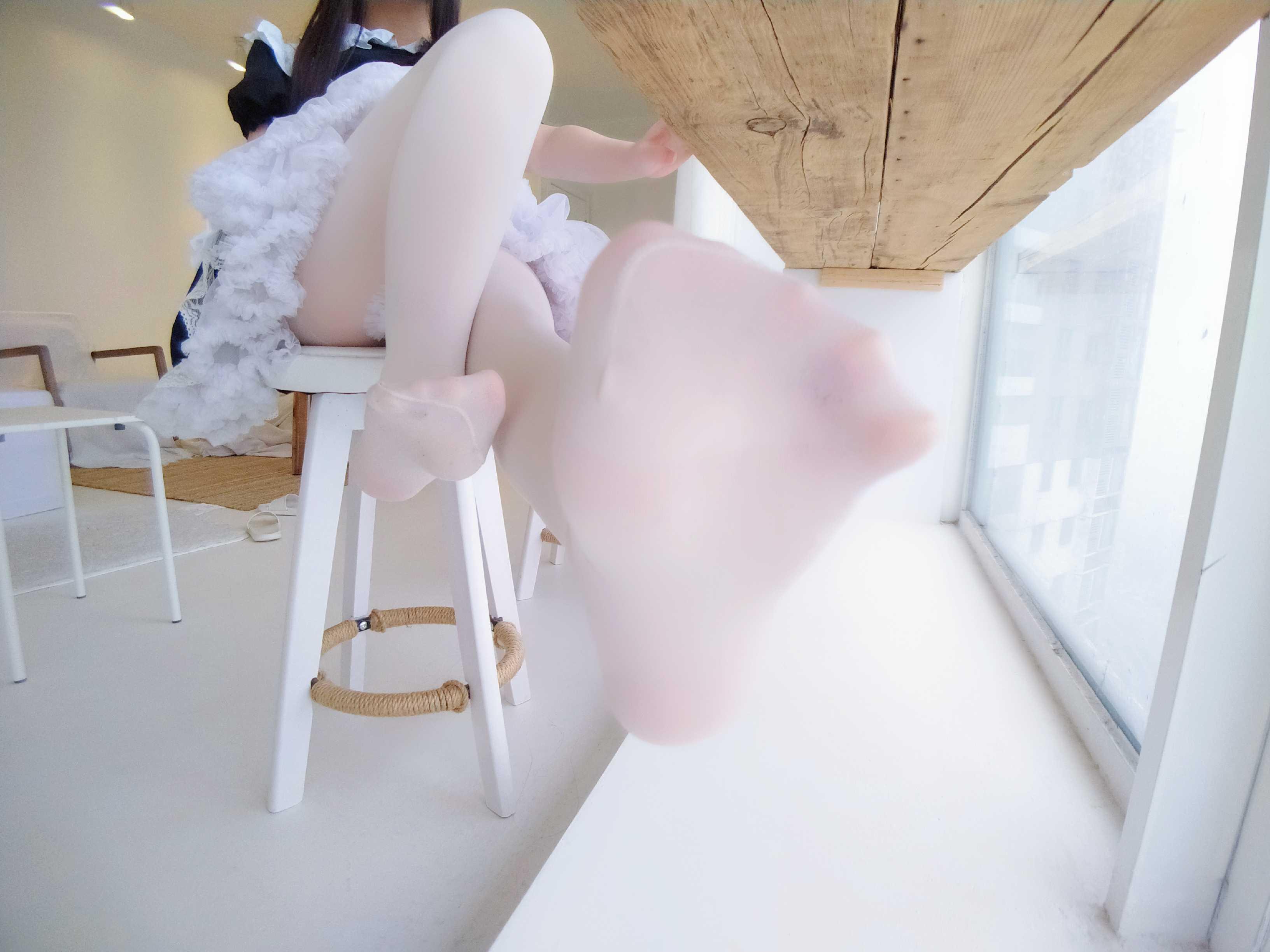 ⭐微博红人⭐古川kagura@coser图片-NO.13 黑白女仆 [35P-125MB]插图