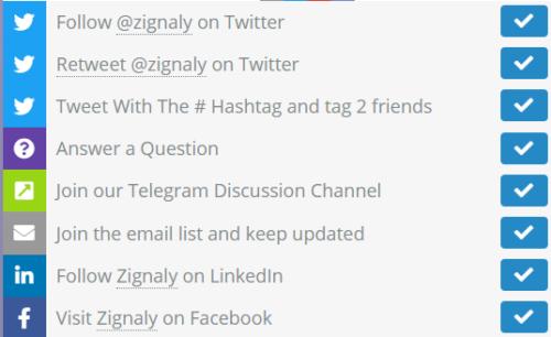 推荐Zignaly和AscendEX将共同为400位幸运的获奖者分别提供1500 ZIG