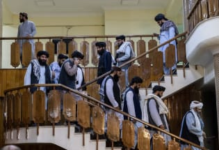塔利班成立过渡政府,数名高层位列美恐怖分子名单