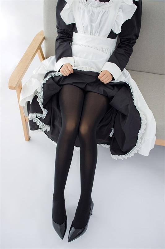 ★丝模写真★森萝财团-JKFUN-029卉女仆踩物80D黑丝[67P/1V/3.16G]