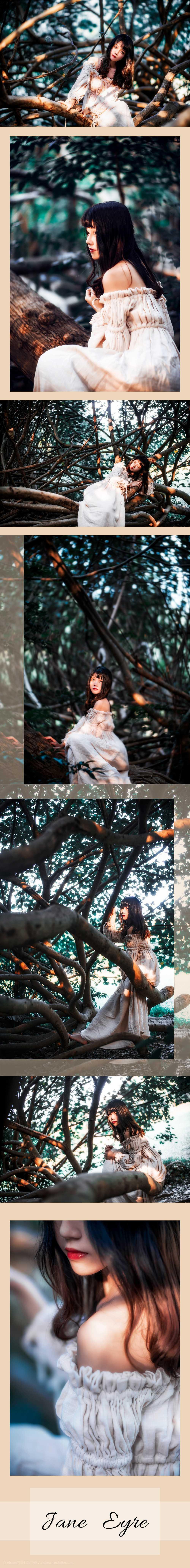 免费⭐微博红人⭐桜桃喵@写真cos-Jane Eyre(桜桃喵)插图2