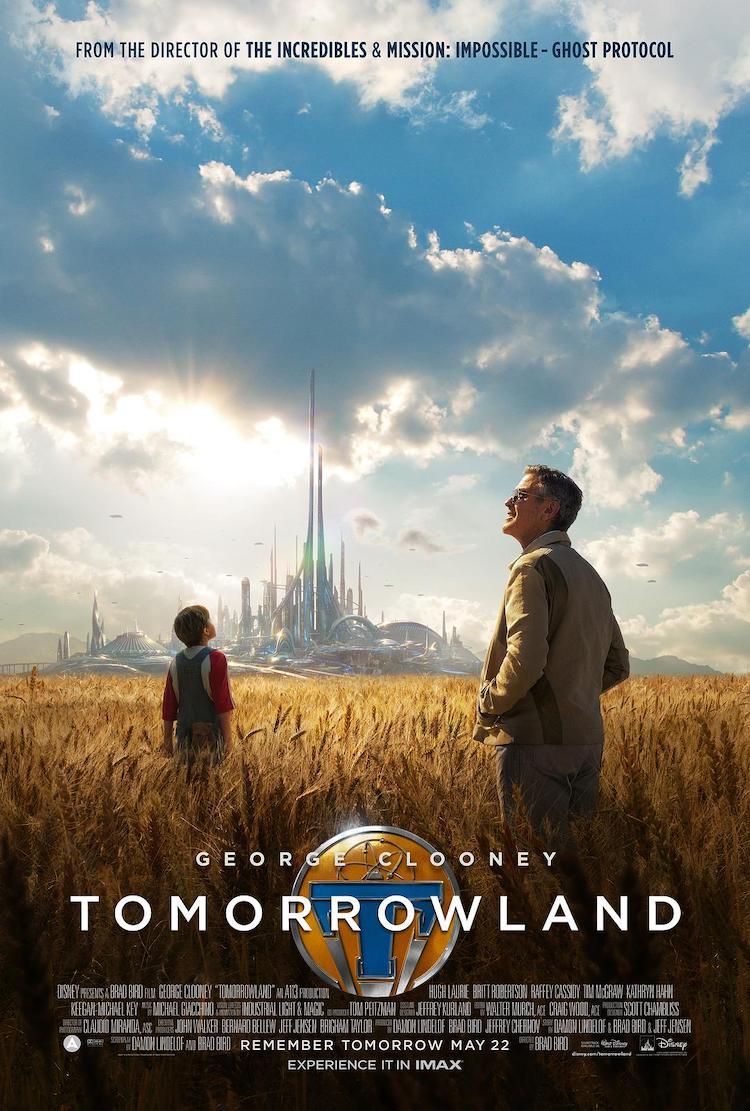 《明日世界/未来世界》(Tomorrowland)电影影评:用梦想家的观点来看更有感觉