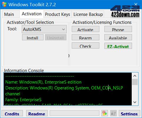 Microsoft Toolkit v2.7.2_老牌KMS激活工具