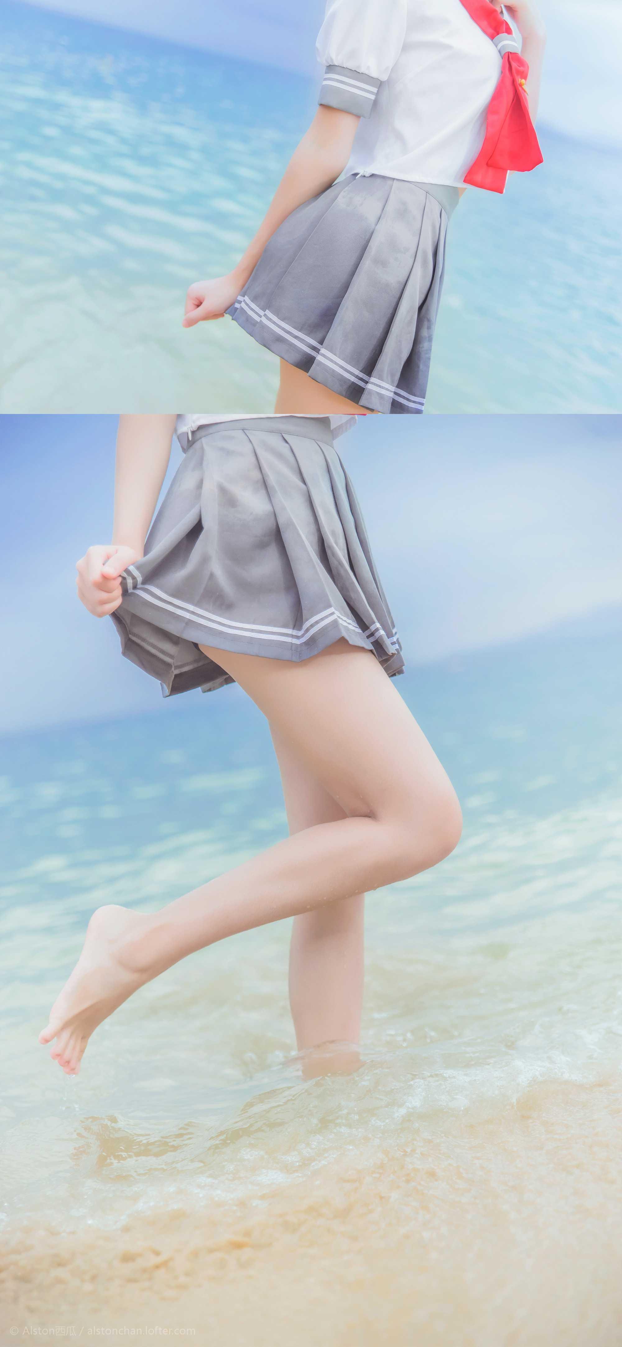 免费⭐微博红人⭐桜桃喵@写真cos-Sunshine(桜桃喵 )插图4