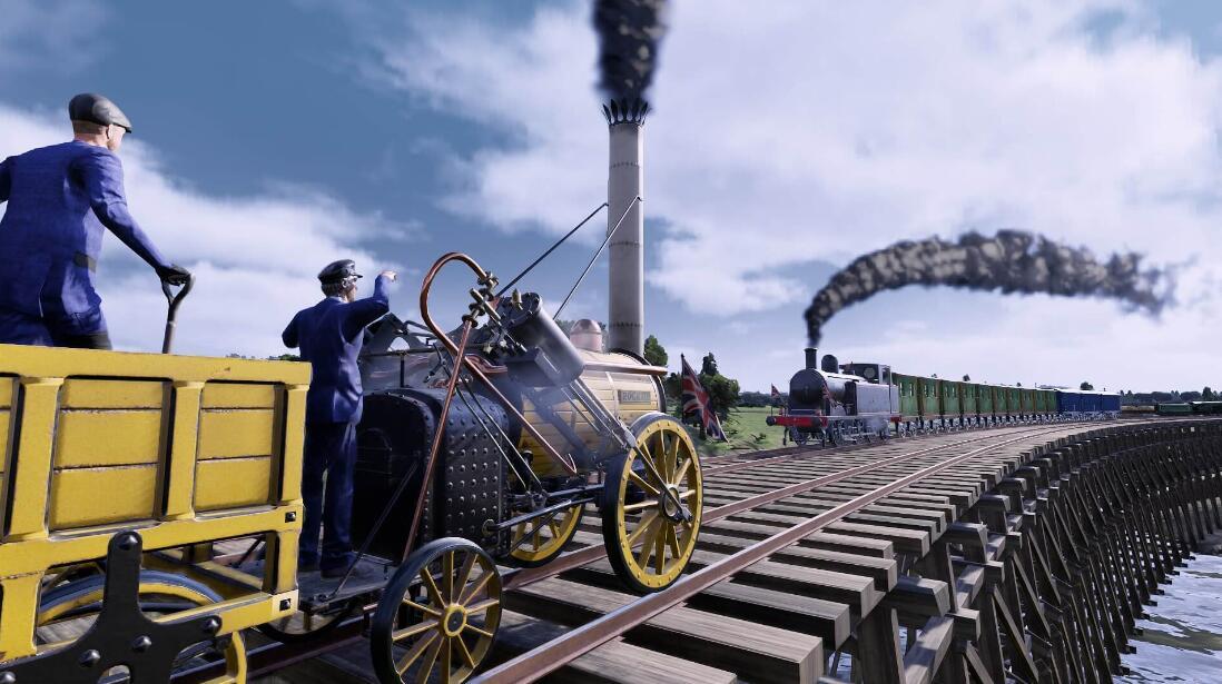Epic商城本周免费领取游戏:《铁路帝国》