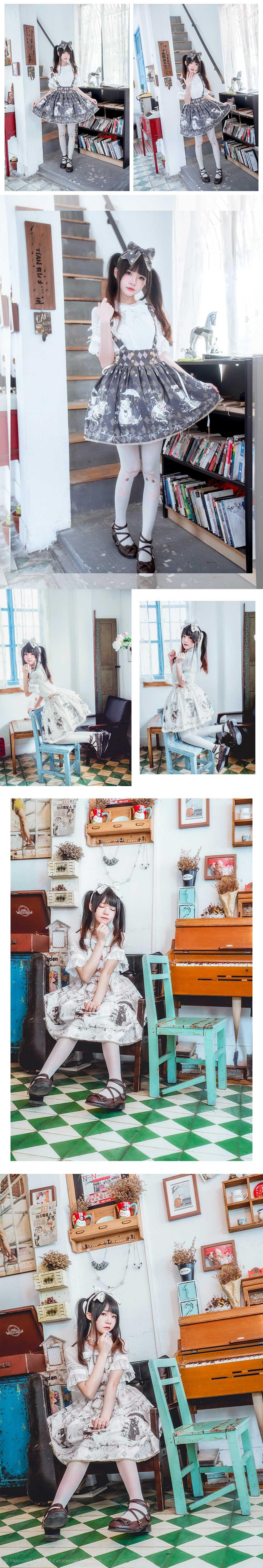 免费⭐微博红人⭐桜桃喵@写真cos-雨中的猫(桜桃喵)【10P】插图10