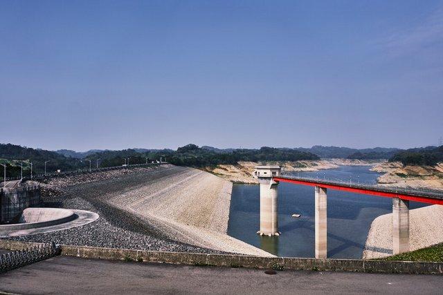 宝山第二水库。去年雨季没有任何台风登陆台湾。
