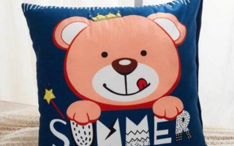 早起捡漏!快!手慢无!5.9撸北极绒小熊卡通抱枕5.9