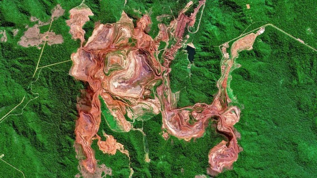 巴西卡拉加斯矿(Carajas Mine)是世界最大的铁矿之一