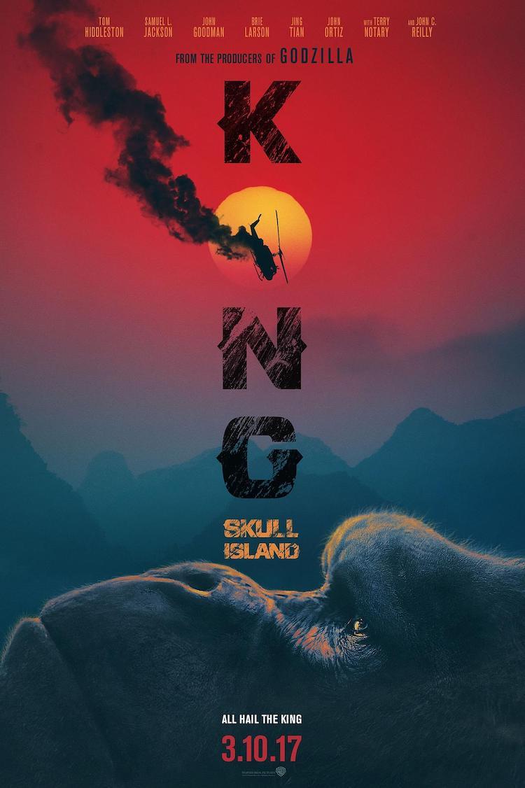 《金刚:骷髅岛》电影评价:剧情空泛的爆米花电影