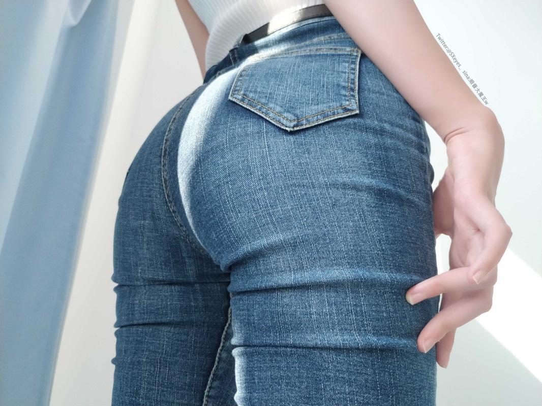 ⭐cos套图⭐眼酱大魔王w NO.003 牛仔裤 [32P-164M]插图1