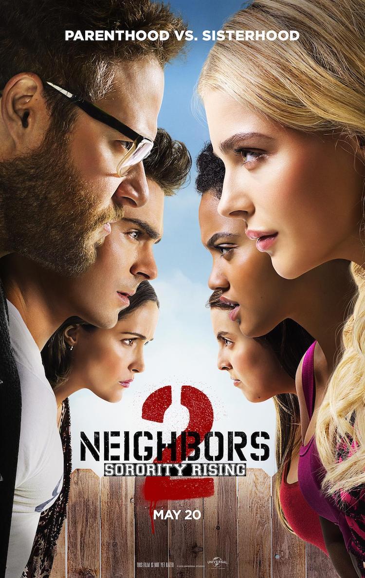 2016美国喜剧电影《邻居大战2:姐妹会崛起》剧情介绍及评价