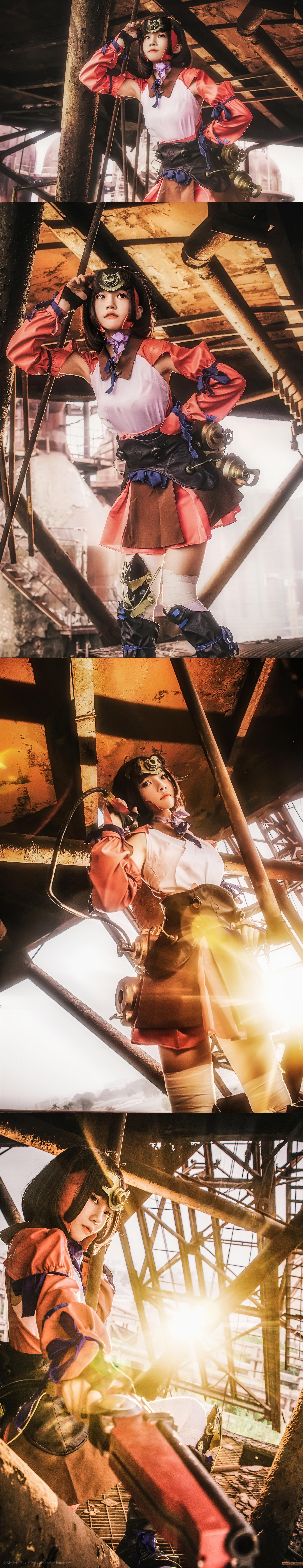 免费⭐微博红人⭐桜桃喵@写真cos-甲铁城的卡巴内瑞(桜桃喵)插图2