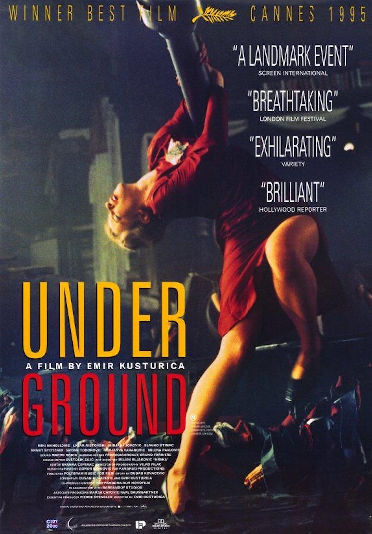 《地下/地下社会/没有天空的都市》电影:从两男一女的爱恨情仇看南斯拉夫的变迁