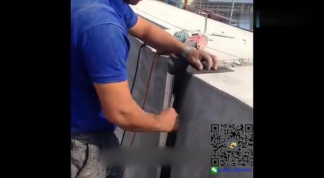 外墙面变形缝安装
