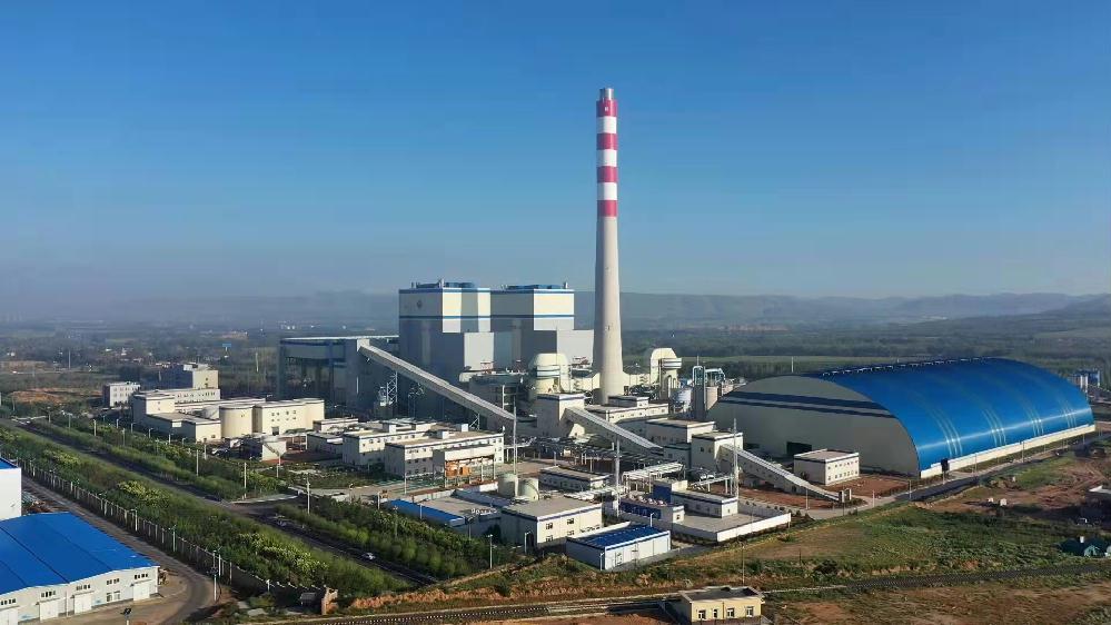 内蒙古赤峰市2台350兆瓦自人备热电联产项目全面投产