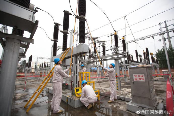 汉中供电公司110千伏留坝变电站秋检工作正式拉开
